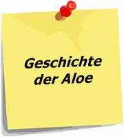 Geschichte der Aloe