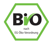 Bio certificate - certified product from controlled organic cultivation