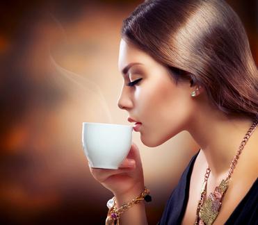 Tee trinken ist immer eine gute Idee