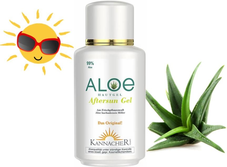 Aloe Vera - AfterSun mit Lemongrasöl (200 ml)