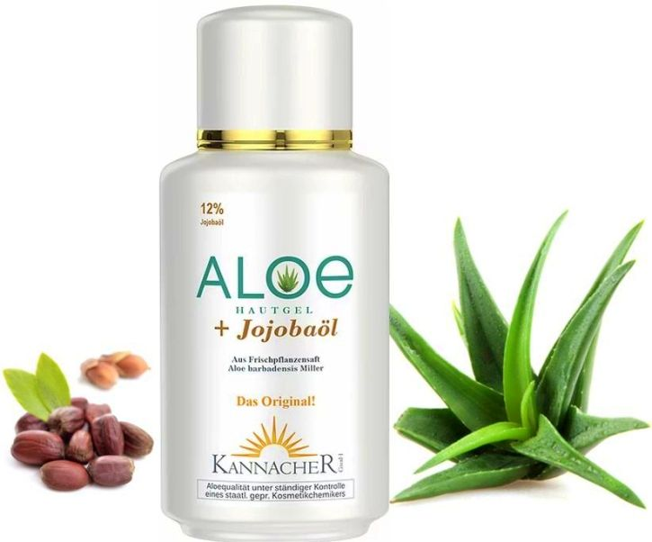 Aloe Vera skin gel with Jojoba (200 ml)