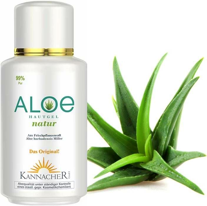 Aloe Vera skin gel - Natural (200 ml)  without aromas