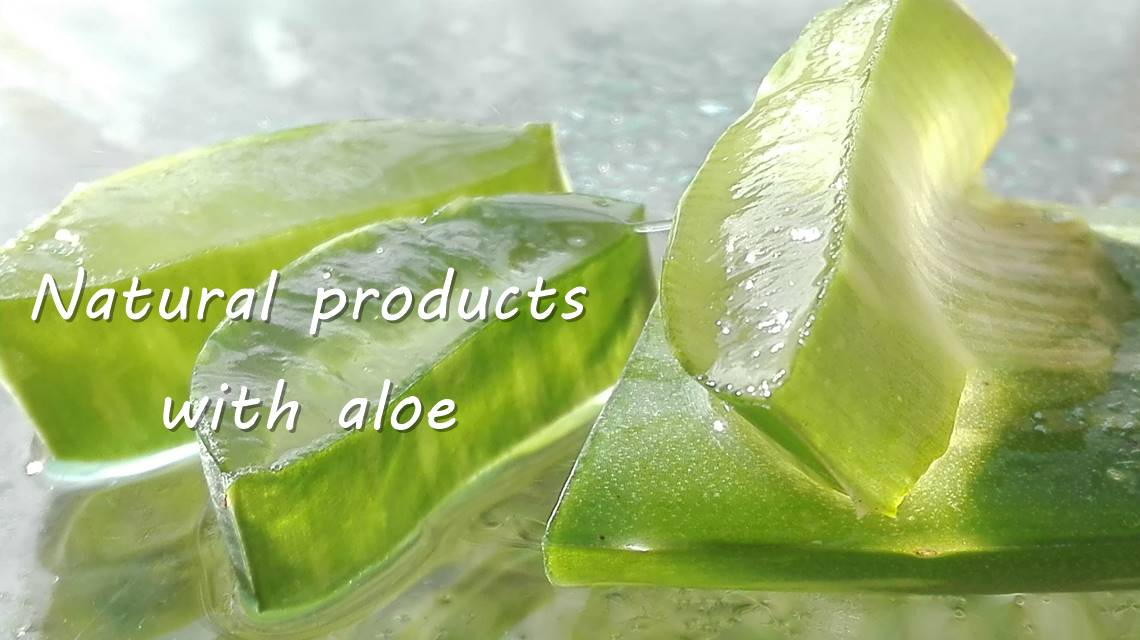 Natural products with aloe